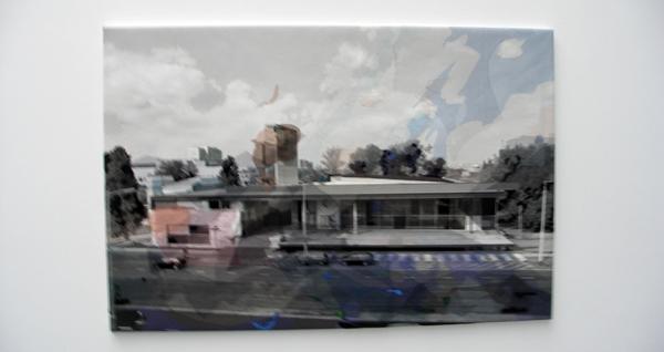 Berend Strik - The Concise Townscape in Rehab - 80x120cm Borduursel op C-print