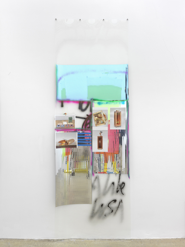 Fassade II (Duchamp) - 300x101cm Mixed Media