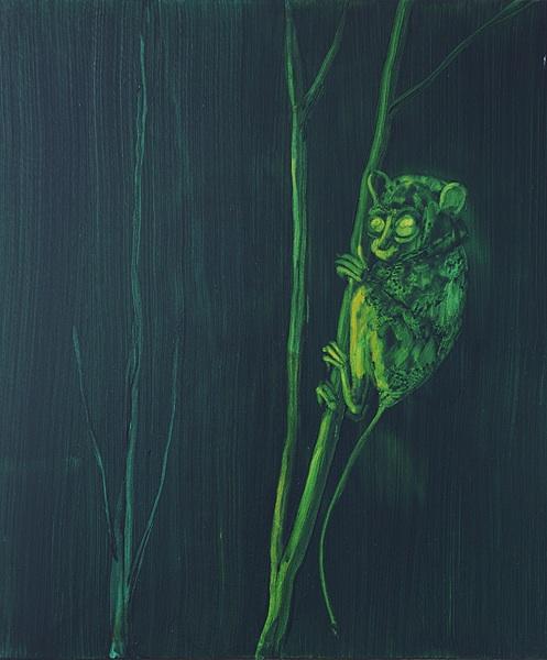 Hommage to Dr. Gros Clarke - 60x50cm Acrylverf en olieverf op canvas