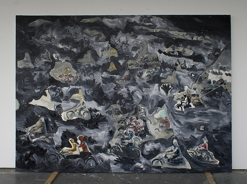 Jocko Homo - 200x280cm Olieverf op canvas