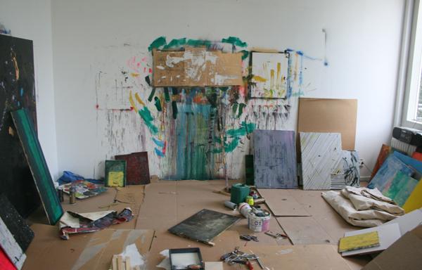 Michiel Ceulers zijn atelier