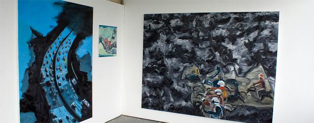 Mitchel Breed is net (of nog net niet) afgestudeerd in Utrecht aan de HKU en zit nu in het eerste jaar van Ateliers. Zijn oeuvre is dan ook nog niet […]