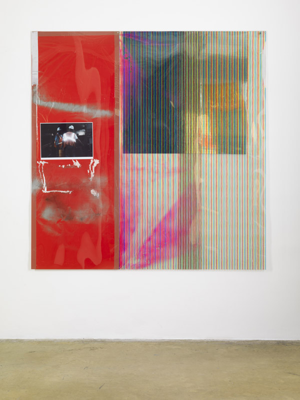 Mona Isa V (Ground Zero Arbeiter) - 192x187cm Mixed Media