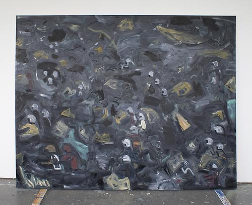Obraz - 200x250cm Olieverf op canvas