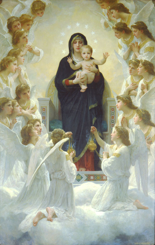 The Virgin With Angels (1900)