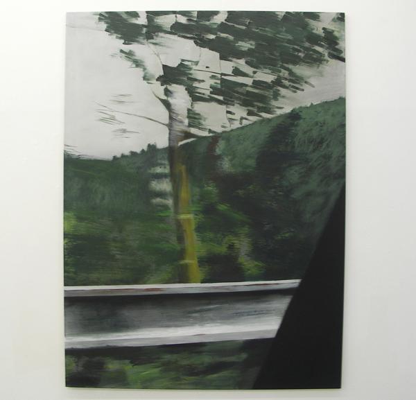 Frank van den Heuvel - Herinneringen aan het voorbijgaan - Acrylverf op doek