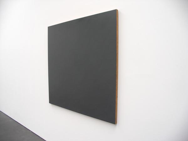 Graues Bild - 145x150cm Olieverf op hout