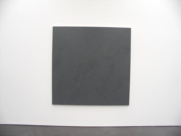 Graues Bild - 200x200cm Olieverf op doek
