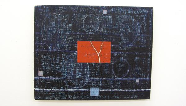 Lucas Silawanebessy - The Collective Memory - Olieverf en p.stick op doek