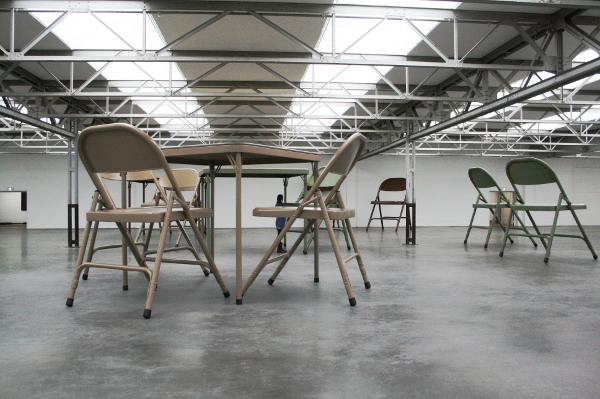 No title (folding table and chairs 1,2 en 3) 2006, 2007 en 2008