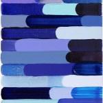Work No 1065 - 30x25cm Acrylverf, enamel, inkt, olieverf en waterverf op canvas
