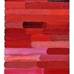 Work No 1127 - 30x25cm Acrylverf, enamel, inkt, olieverf en waterverf op canvas