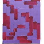 Work No 1158 - 30x25cm Acrylverf op canvas