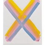 Work No 1159 - 30x25cm Acrylverf op canvas