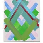 Work No 1162 - 30x25cm Acrylverf op canvas