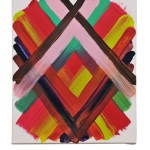 Work No 1167 - 30x25cm Acrylverf op canvas