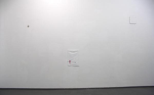 Bas van den Hurk - Untitled - 50x60cm Mixed media op crepe papier