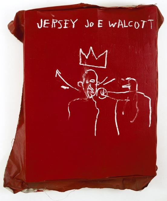 Jeresy Joe - 120x91cm Acrylverf en oliekrijt op canvas