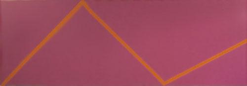 Juke - 85x243inch Acrylverf op canvas