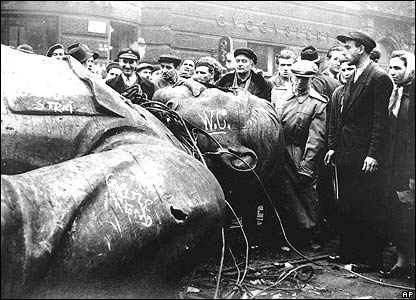 Stalin vernield (catagorie ongeliefde leiders)
