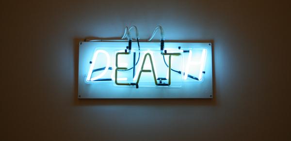 Bruce Nauman - Eat Death