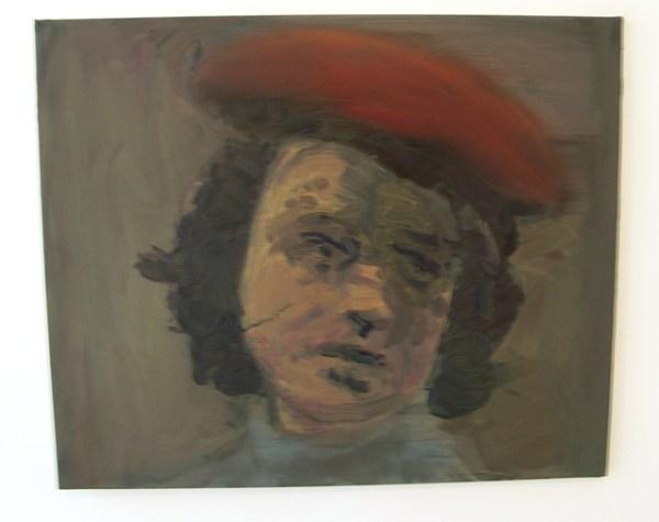 Felix Gmelin - Camera Rolling - 56x68cm Olieverf op canvas