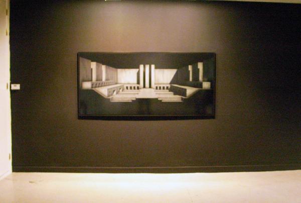 Renato Nicoldi - Memento Mori I - 220x100cm Lambdaprint op plexiglas