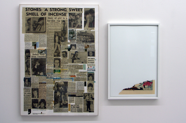 Richard Hamilton - Swingeing London 67 - 70x50cm & Christian Marclay - Krak - 45x31cm