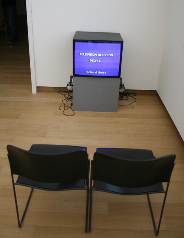 Richard Serra - Television delivers people