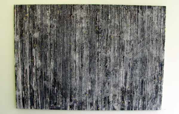 Structural Rules No.1 - 140x200cm Mixed Media op canvas
