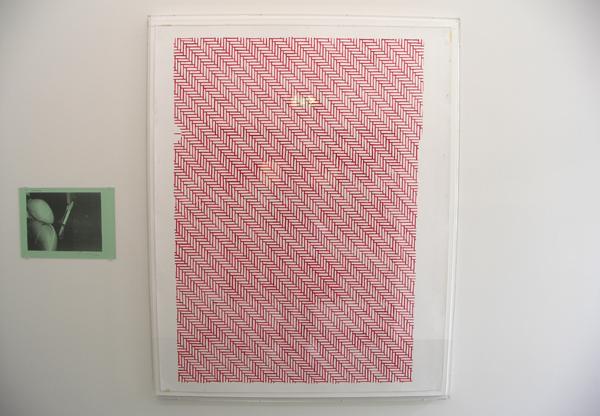 The Passenger - 30x42cm Lasercopy & Untitled (Private Confidential) - 152x120cm Gouache op papier