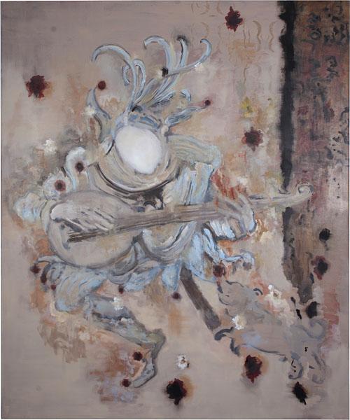 Fool - 180x150cm Olieverf op canvas