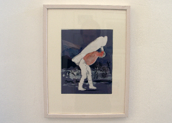 Stijn Peeters - Zonder Titel - 40x30cm Acrylverf op papier