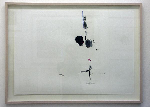 Cees Andriessen - Zonder titel - 70x100cm Inkt en waskrijt op papier