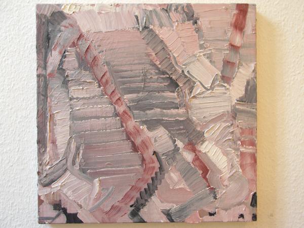 Bettie van Haaster - Venitiaans Rood - 50x50cm Olieverf op doek