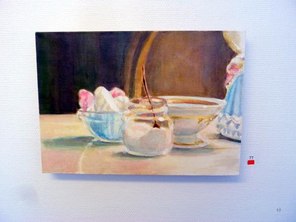 Asta Pajunen - Porcelain Life II - Olie op doek