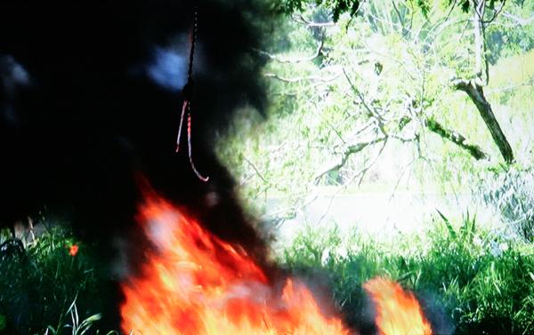 Berni Searle - Black Smoke Rising: Lull, Gateway & Moonlight