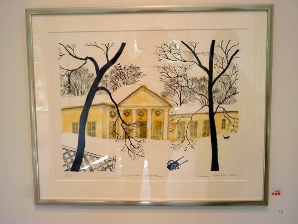 Inari Krohn - Peaceful Mansion - Lithografie