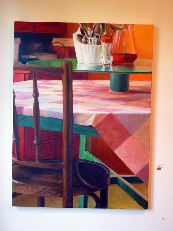 Juha Kuosmanen - And Around it Goes - Acryl en olieverf op canvas