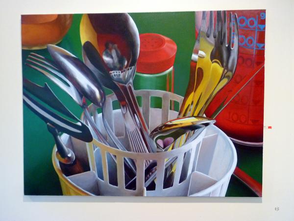 Juha Kuosmanen - Illusion of Continuity - Acryl en olieverf op canvas