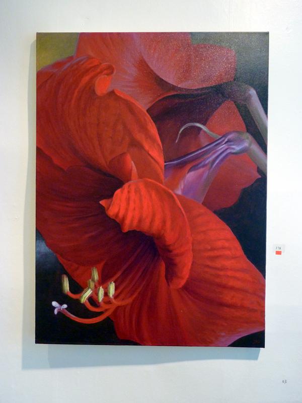 Juha Kuosmanen - Open Promise - Acryl en olieverf op canvas