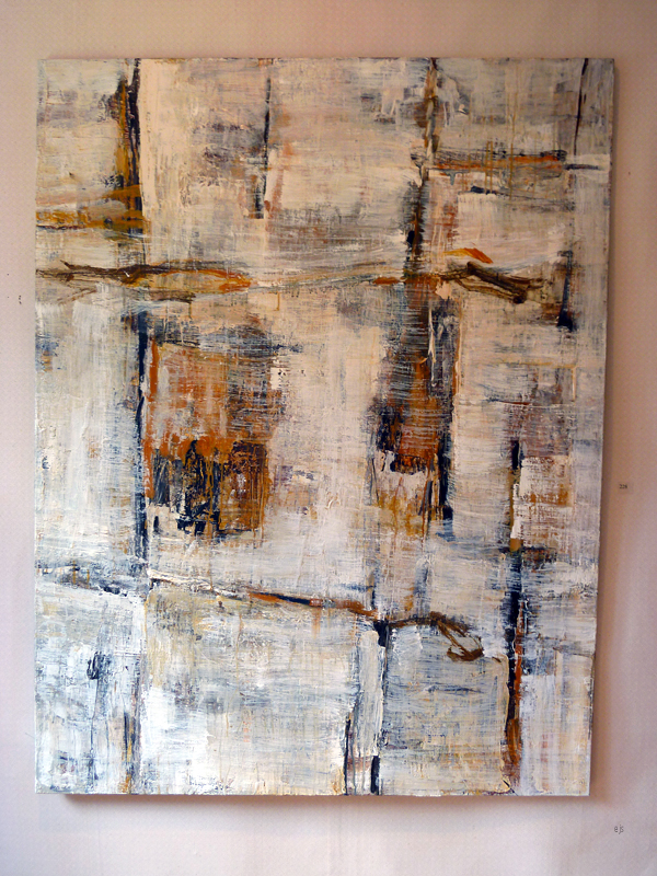 Jussi Halonen - Formation - Acryl op canvas
