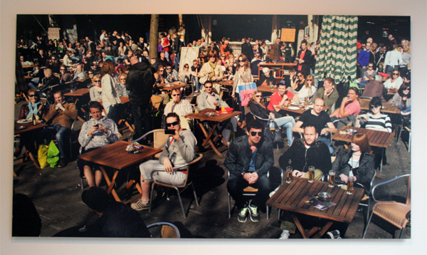 Kim Nuijnen - Instant Reflex scene 8 - 90x160cm Inkjet op dibond