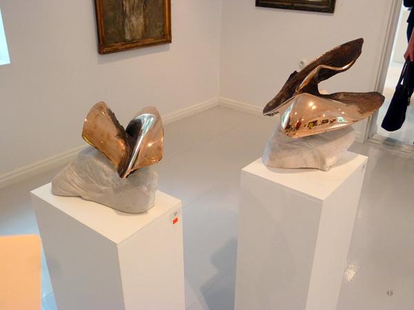 Laila Pullinen - Mythos & Metaphor - Fins Marmer en brons