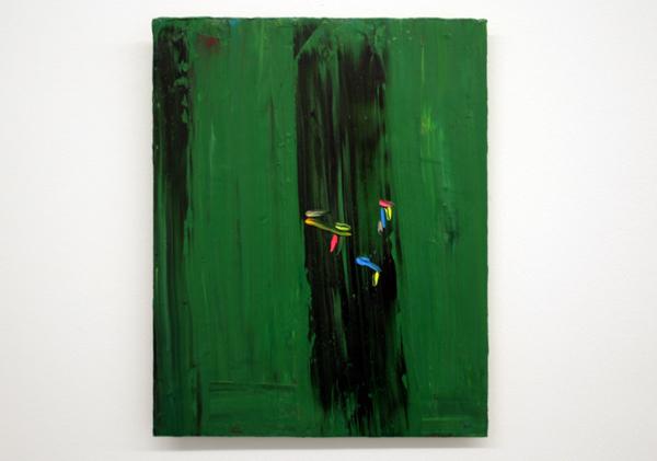 Norbert Prangenberg - Bild (Painting) - 50x40cm Olieverf op paneel