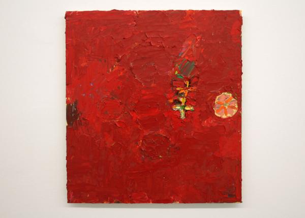Norbert Prangenberg - Bild (Painting) - 55x50cm Olieverf op paneel
