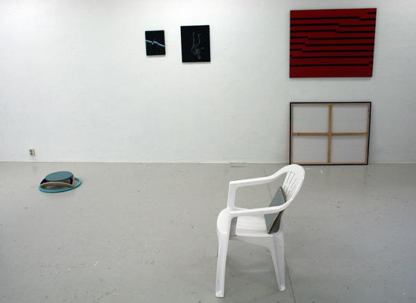 De stoel met de stoeptegel van Bouchez hoorde er ook bij