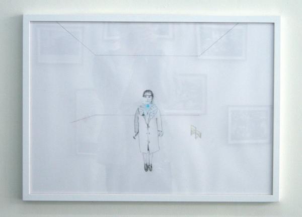 Johan Gustavsson - Zonder Titel - 50x70cm Potlood op papier