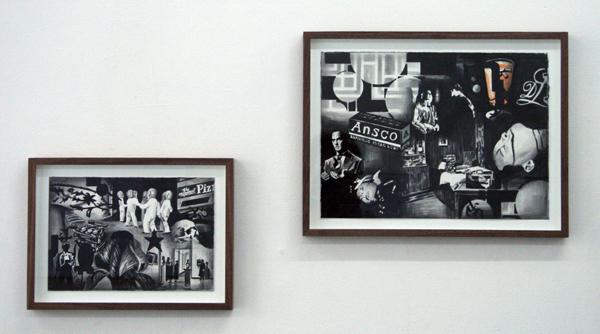 Marcel van Eeden - Dreams - 19x28cm en 28x38 cm Negropotlood, aquarel op papier