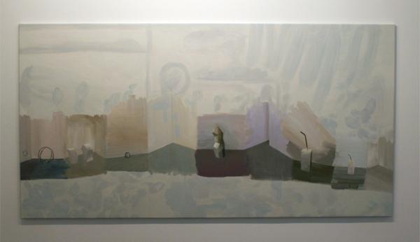 Aukje Koks - Walkabout - 140x270 Olieverf op canvas